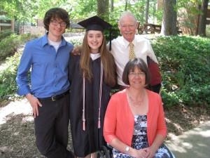 Abigail's graduation