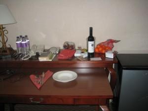 Hotel Room Food
