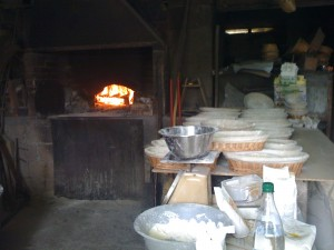 Baking oven at La Ferme de Gernes