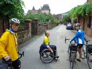 Entering Collonges-la-Rouge