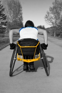 Racing Chair, Yellow