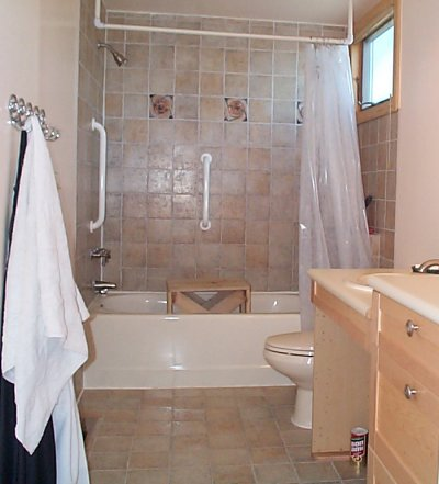 remodelled bathroom