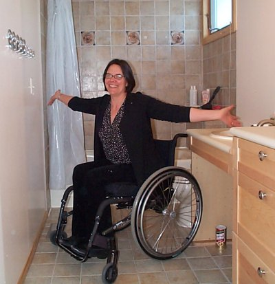 Wheelchair Accessible Bathroom Remodel Best Wet Rooms For The - Handicap accessible bathroom remodel