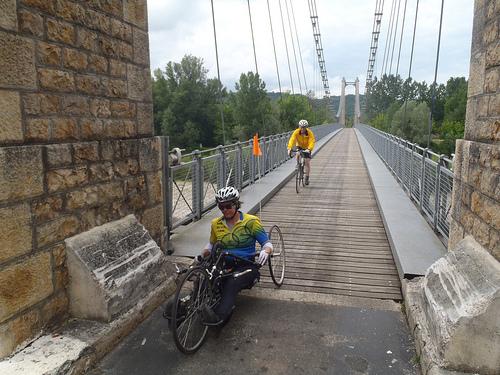 Crossing the Dordogne