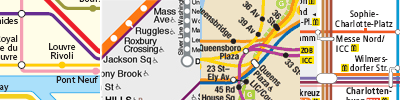 collage of metro maps