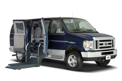 Van with a lift