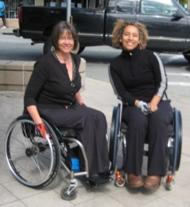 Wheelchair Dancer & Katja